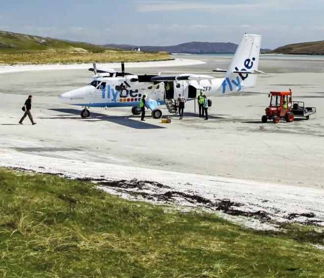 A beach airport, secret whisky stashes and the world's prettiest proposed nuclear waste dump: Walking Scotland's island of Barra